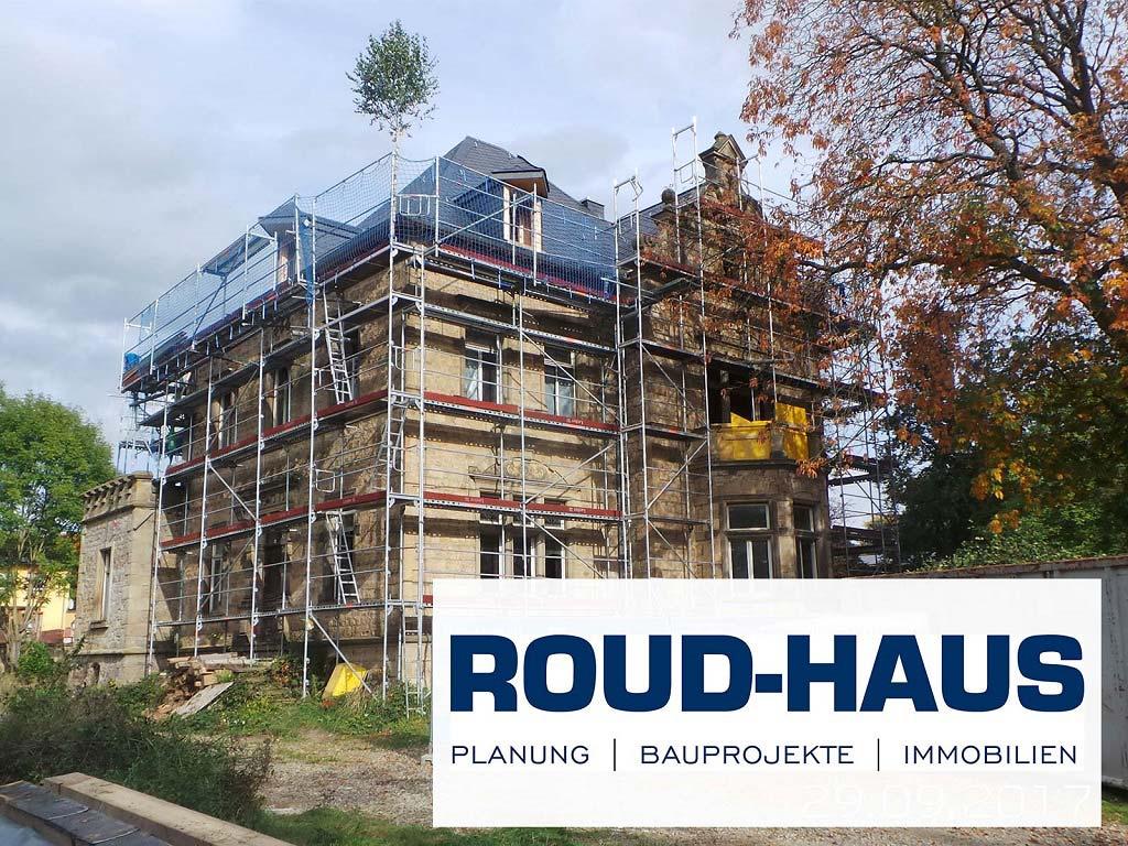 Sanierung Villa Elbertzhagen in Simmertal